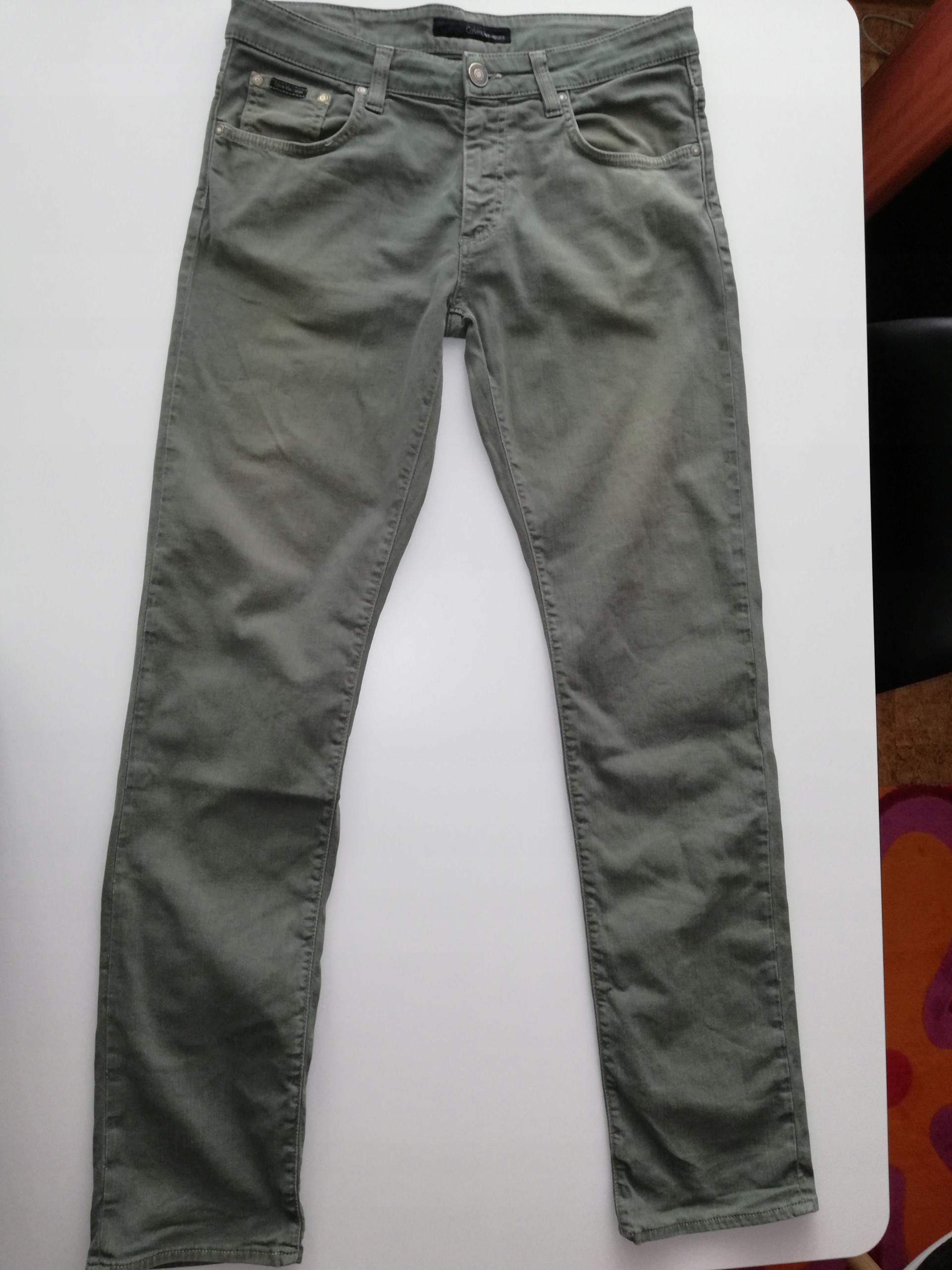 Calvin Klein Jeans jeansy męskie 31/34