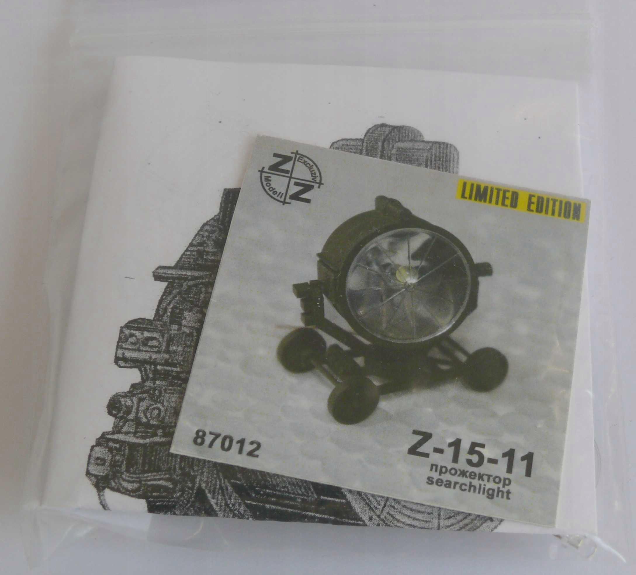 Reflektor Lotniczy Z-15-11 skala 1/72