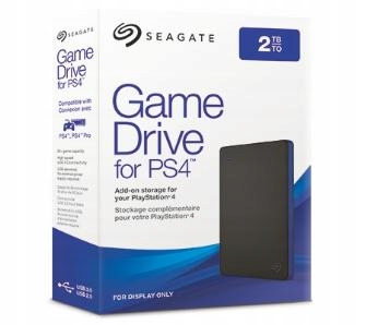 DYSK SEAGATE 2TB GAME DRIVE FOR PS4