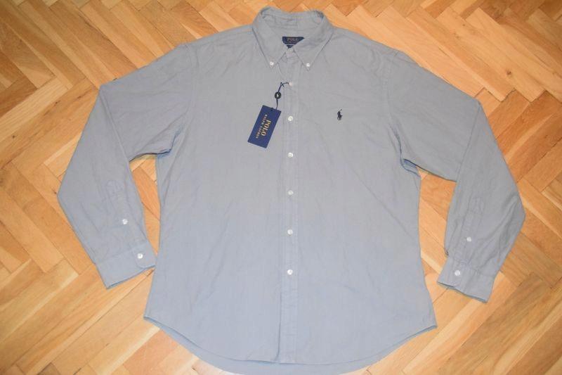 RALPH LAUREN SLIM FIT męska koszula ~ XL ~