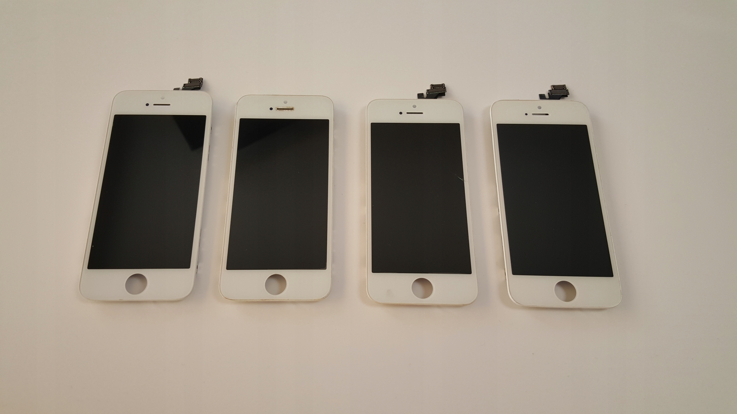 WYŚWIETLACZ LCD APPLE iPhone 5 BIAŁY