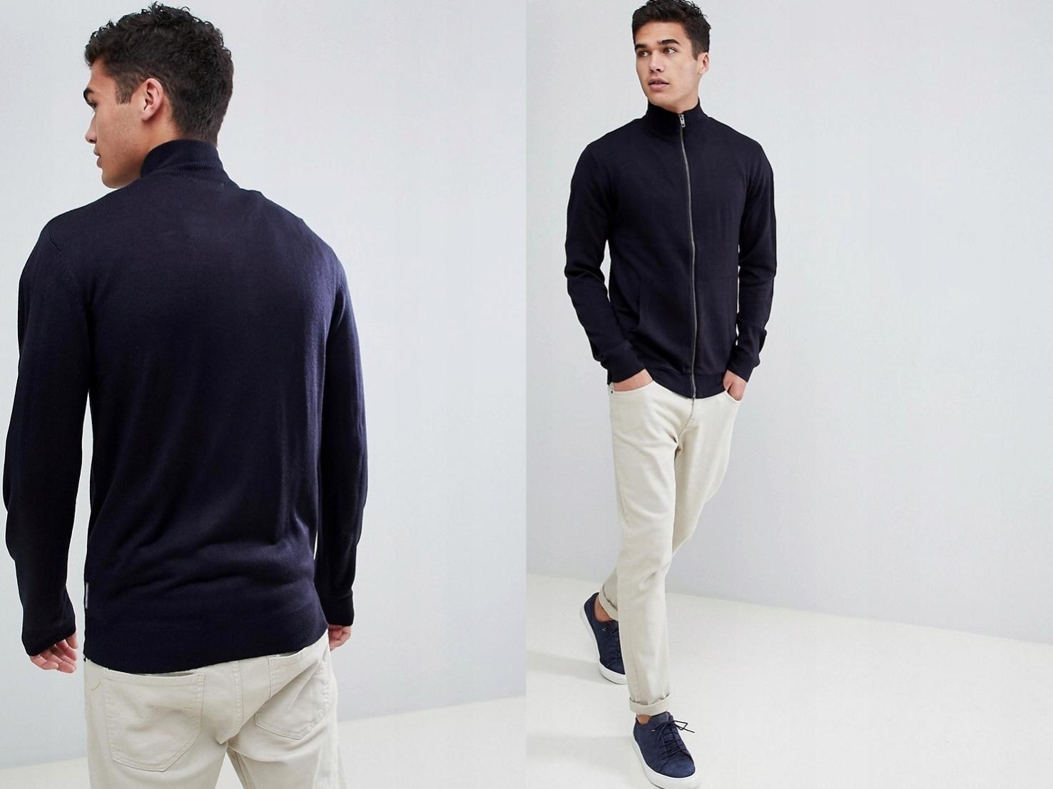 French Connection delikatny sweter z dzianinyM