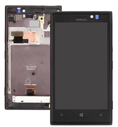 Nokia Lumia 925 LCD + ekran dotykowy + ramka