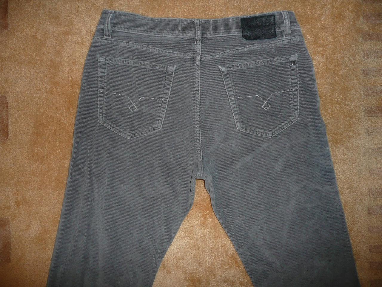 Spodnie sztruksowe PIERRE CARDIN W38/L32=48/109cm