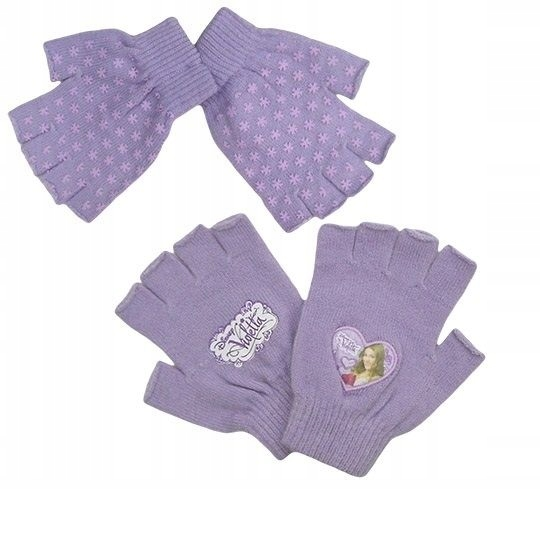 Rękawiczki bez palców Violetta - Martina Stoessel