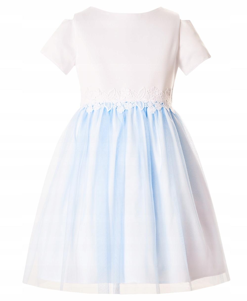 5c33f03413a2dd Sukienka dla dziewczynki Wizytowa Elegancka 146 - 7816222893 ...