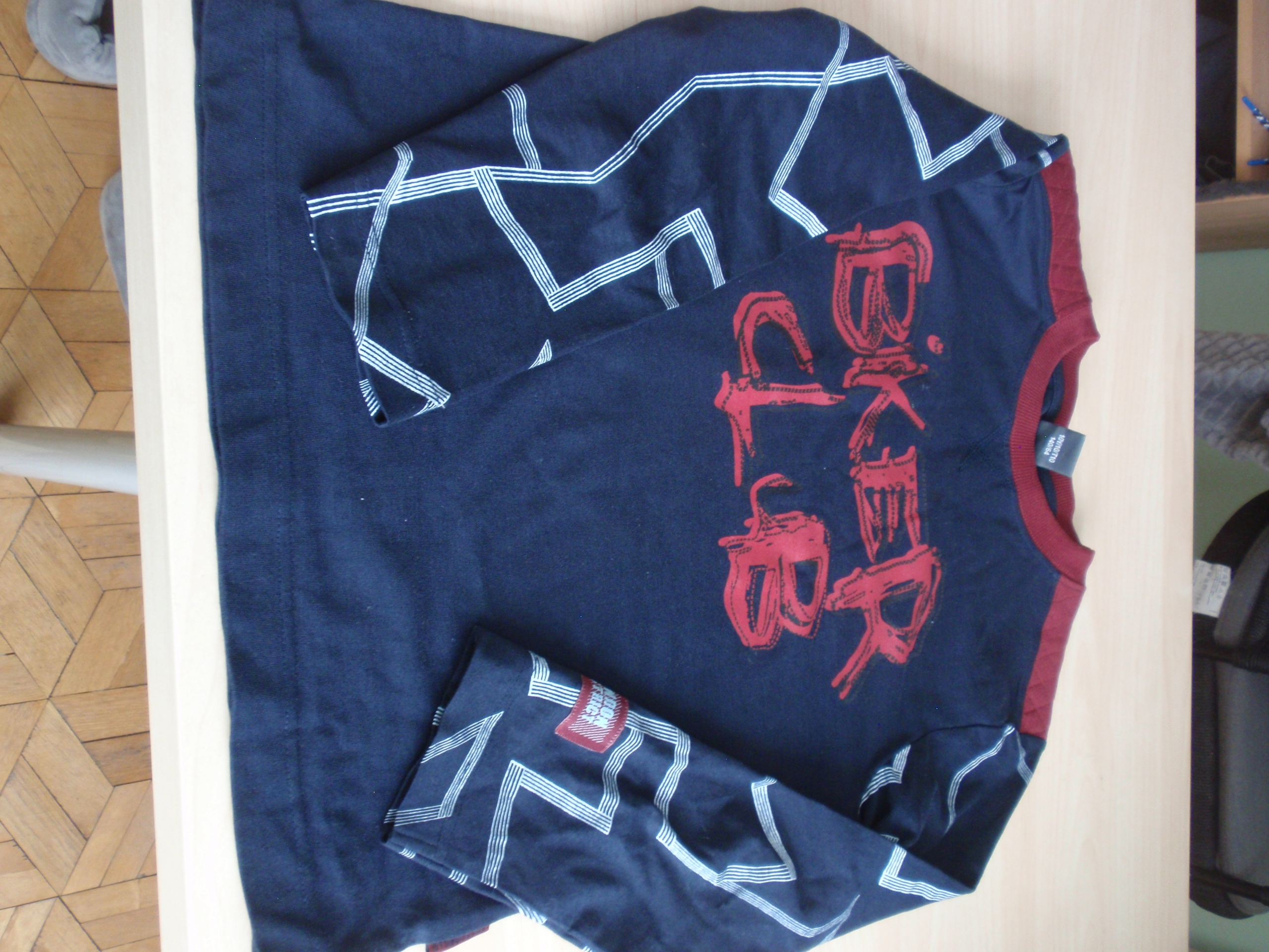 Shirt Coccodrillo 140 cm długi rękaw