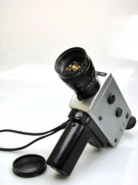 NIZO 148 macro - 1,8/8-48mm - kamera filmowa Super