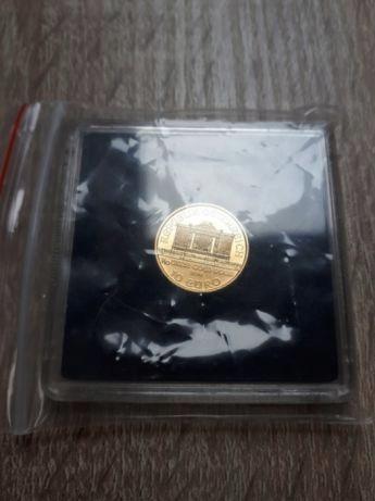 Wiedeński Filcharmonik 1/10uncja złota 2016