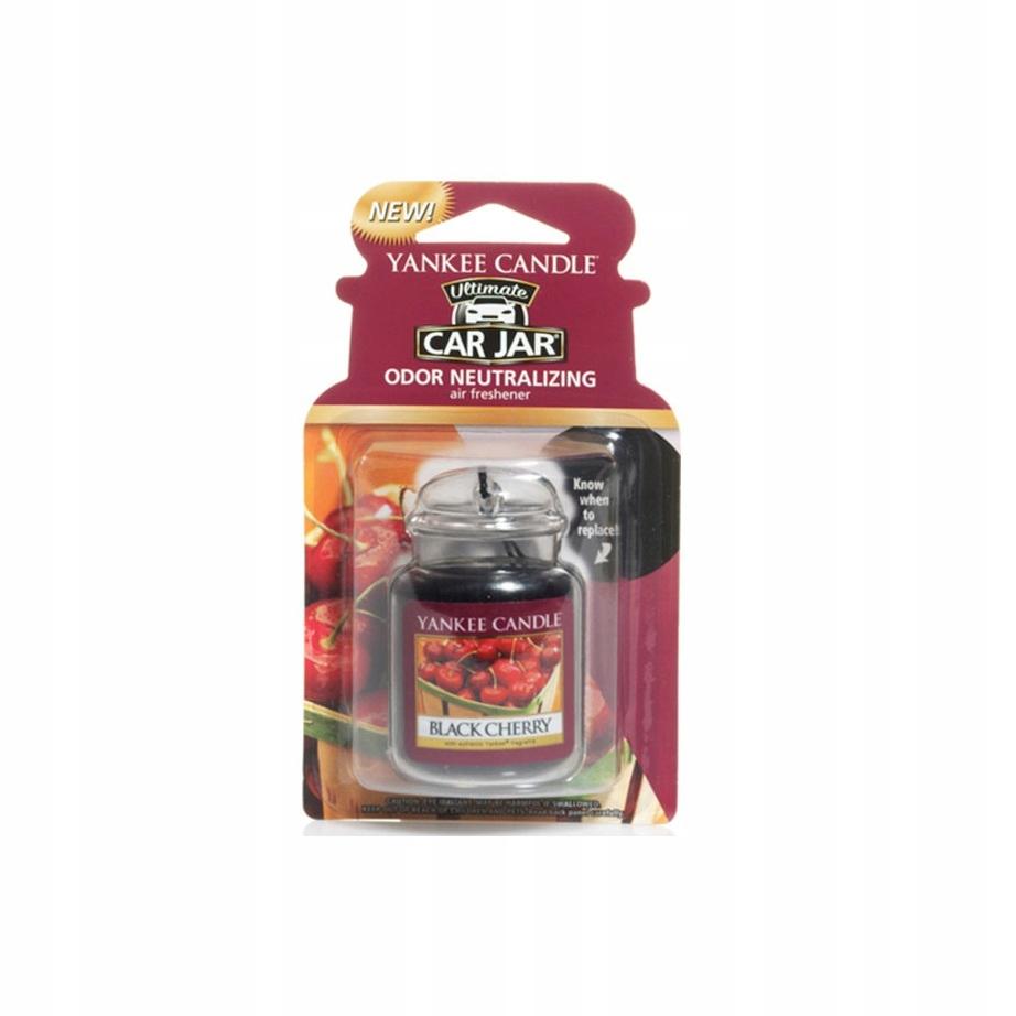 Yankee Candle zapach samochodowy Black Cherry 1 sz