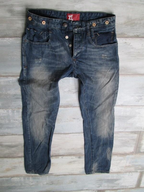 ZARA____ jeans męskie RURKI SLIM____ W32L32 40