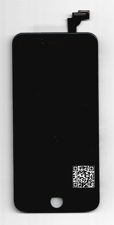 iPhone 6 Plus LCD+DOTYK+RAMKA CZARNY od P4P