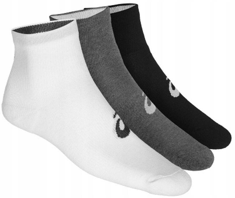Asics Skarpety stopki 3PPK Quarter Sock r. 43-46