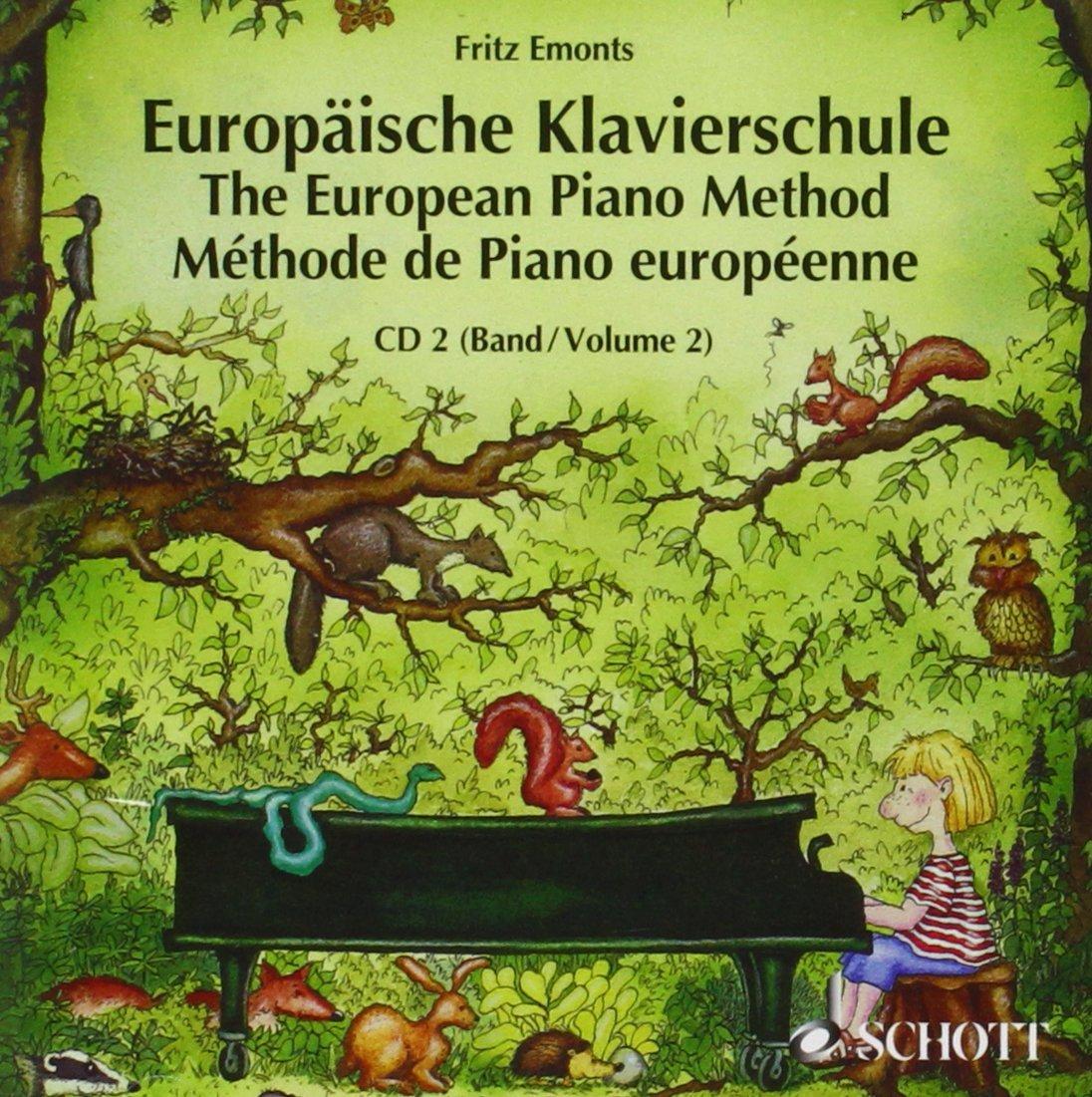 "Płyta ""Europaische Klavierschule CD 2"""