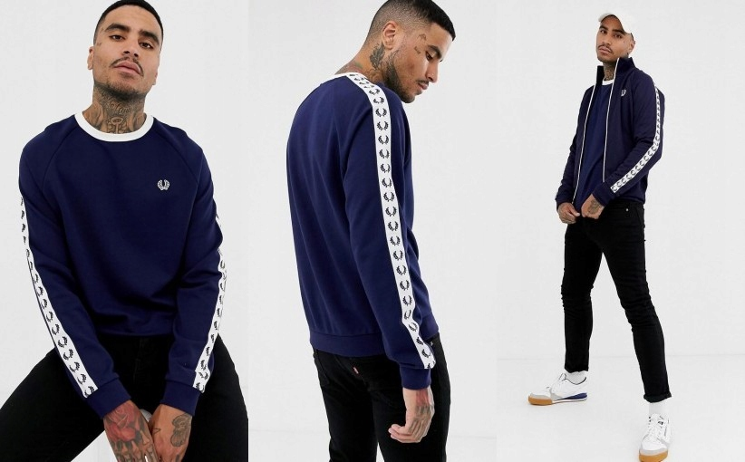 K8B001 FRED PERRY__NT6 BLUZA SPORTS AUTHENTIC__XL