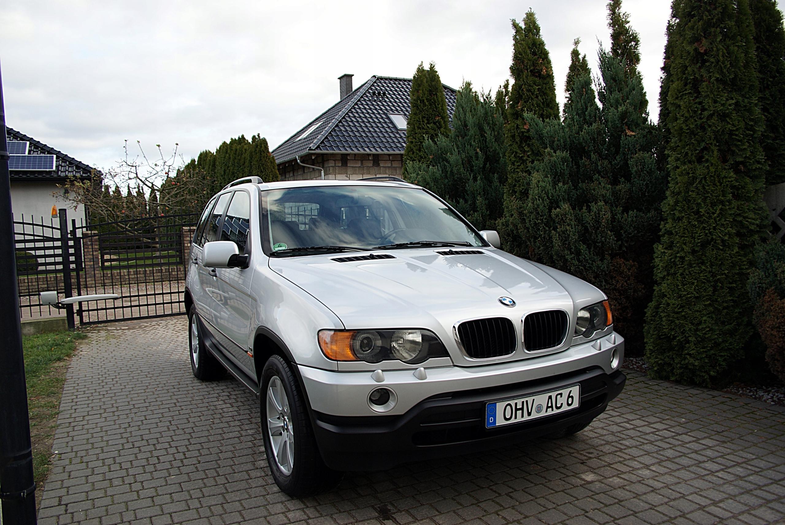 Bmw X5 3,0i 231 koni z Niemiec 2002r E53