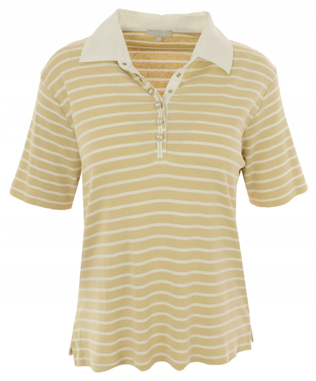 eUU4796 koszulka polo w paski 46