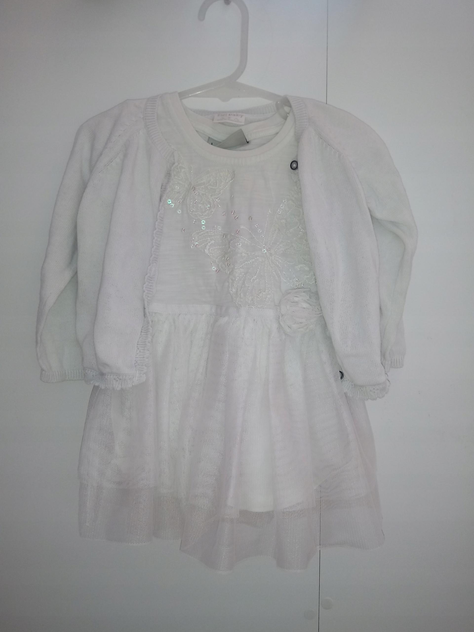 Sukienka next i sweterek F&F 3-9 m