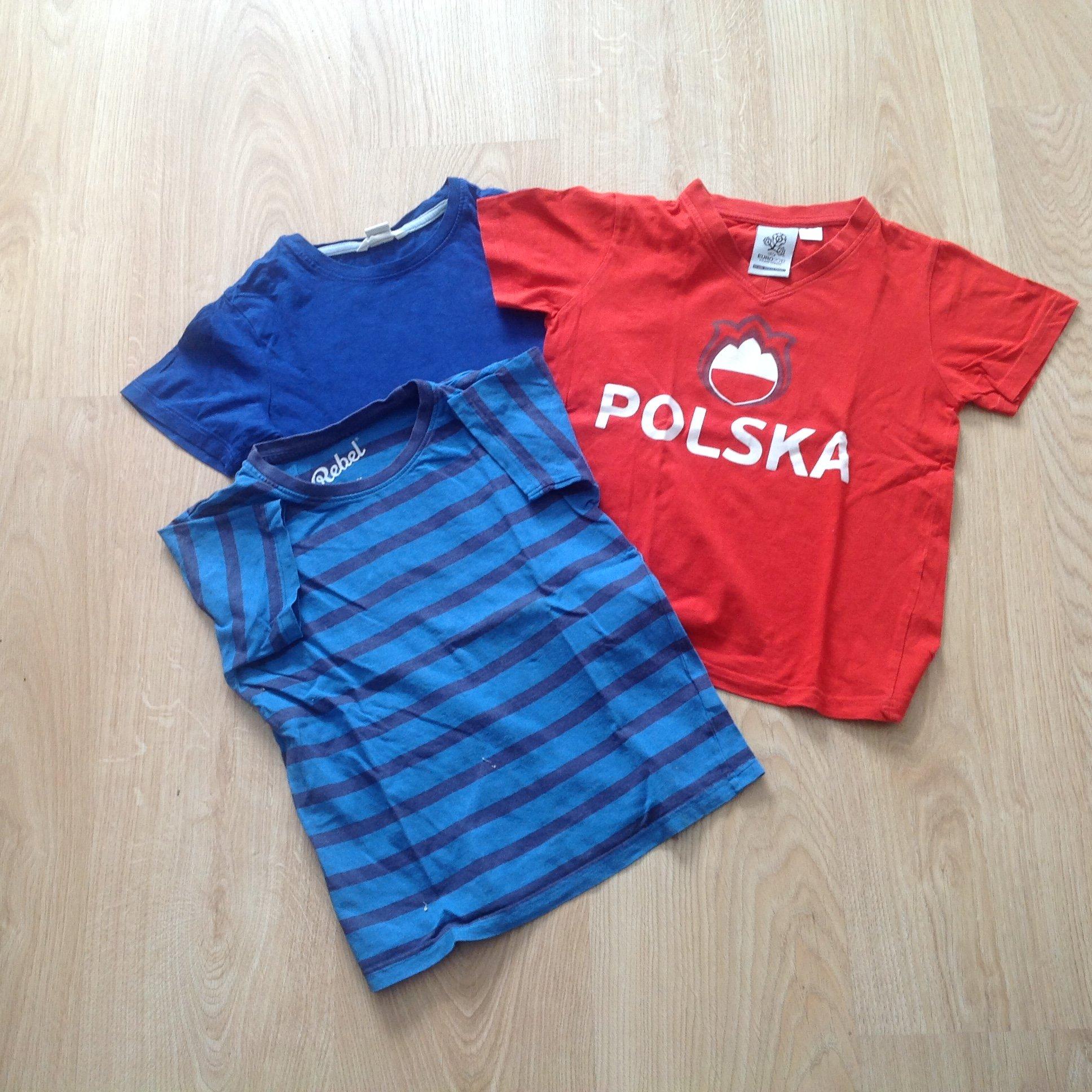 dbda84cee5 TRZY BLUZECZKI H M POLSKA ROZMIAR 122 - 6699663012 - oficjalne ...