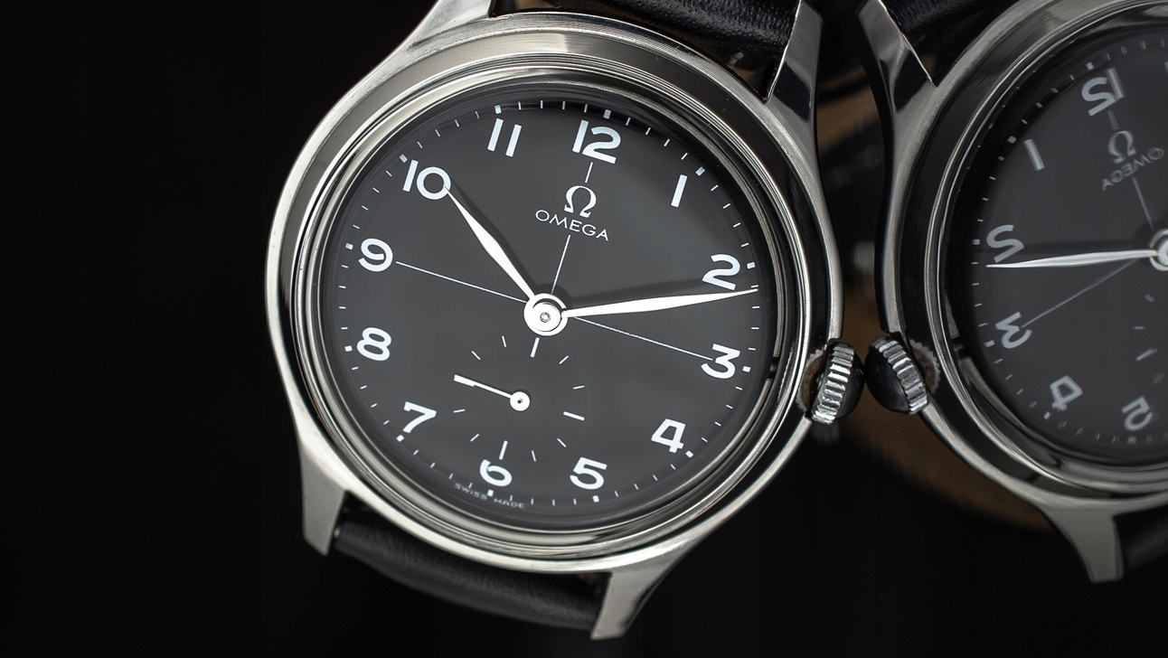 męski zegarek Omega MILITARNA 1932' VINTAGE XXL