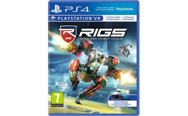 PS4 Playstation 4 RIGS VR PSVR NOWA NIEUŻYWANA