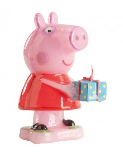 Świeczka na tort Świnka Peppa Urodziny 3D Party