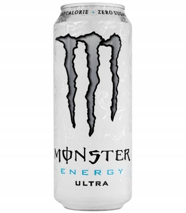 Monster Energy 500ml Napój ULTRA gazowany