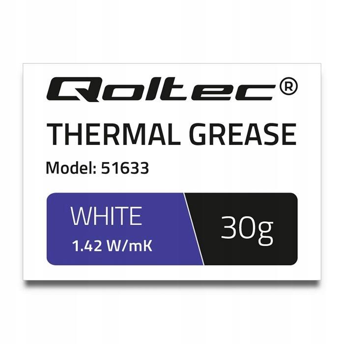 Pasta termoprzewodząca | 1.42W/m-K | 30g | biała