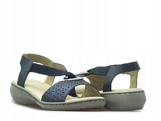 Sandały Caprice 9-28603-28 Ciemny granat_37 Arturo