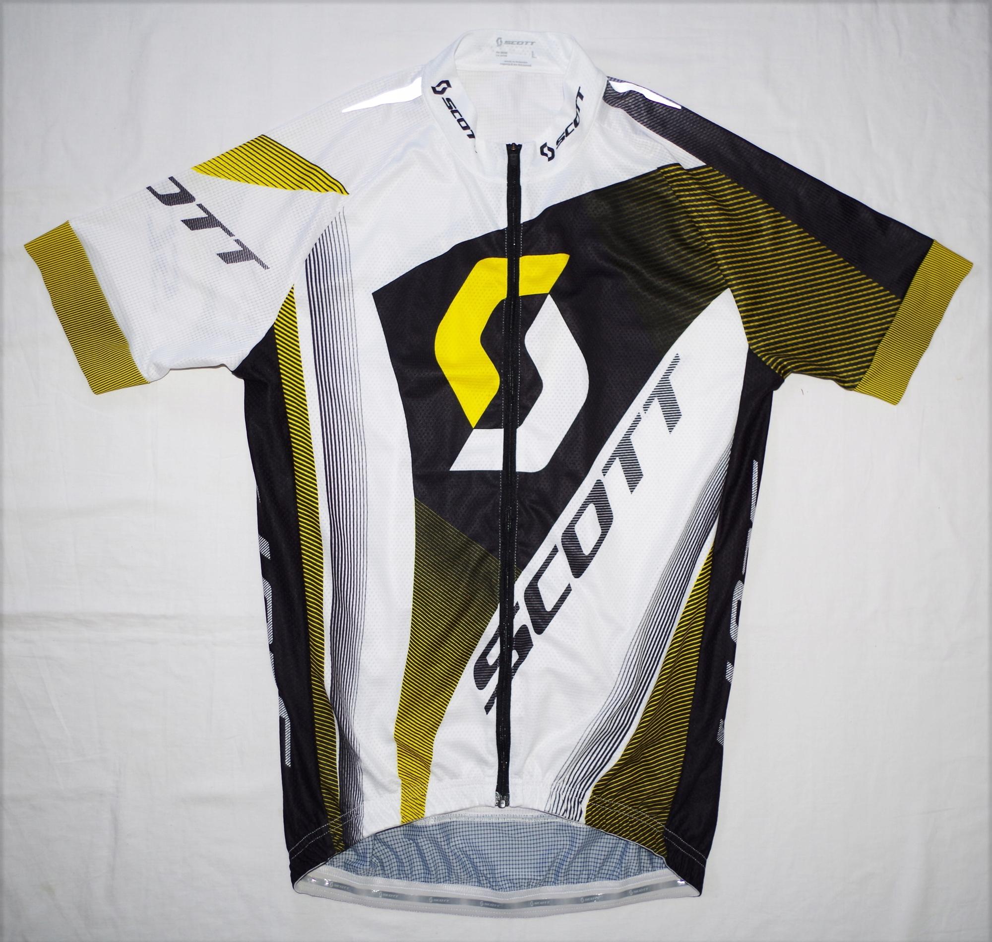 SCOTT PRO doskonała koszulka rowerowa kolarska L
