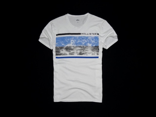 Hollister Waves Graphic Tee S