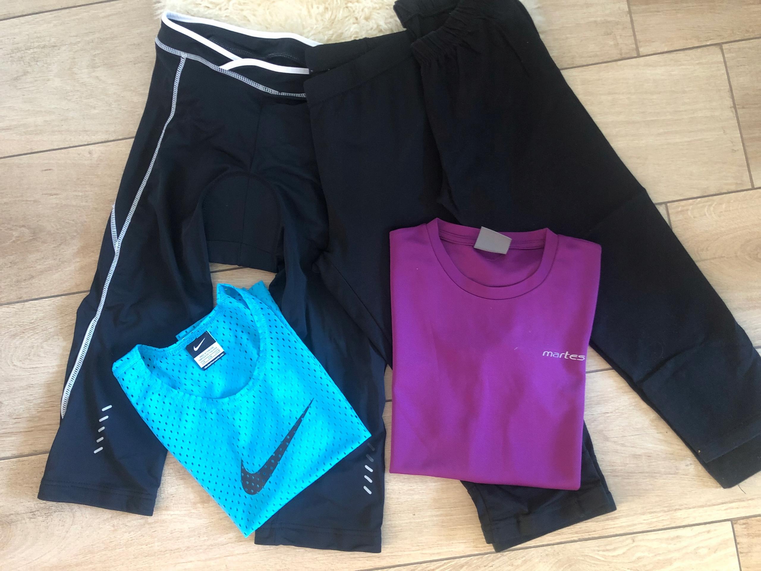Spodnie sportowe, rowerowe i inne S/M