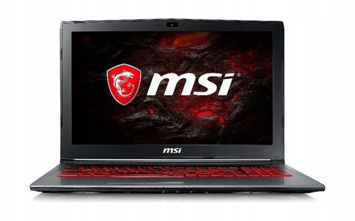 MSI GV62 7RD 2619PL i7/8GB/1TB/GTX1050 4GB/WIN10
