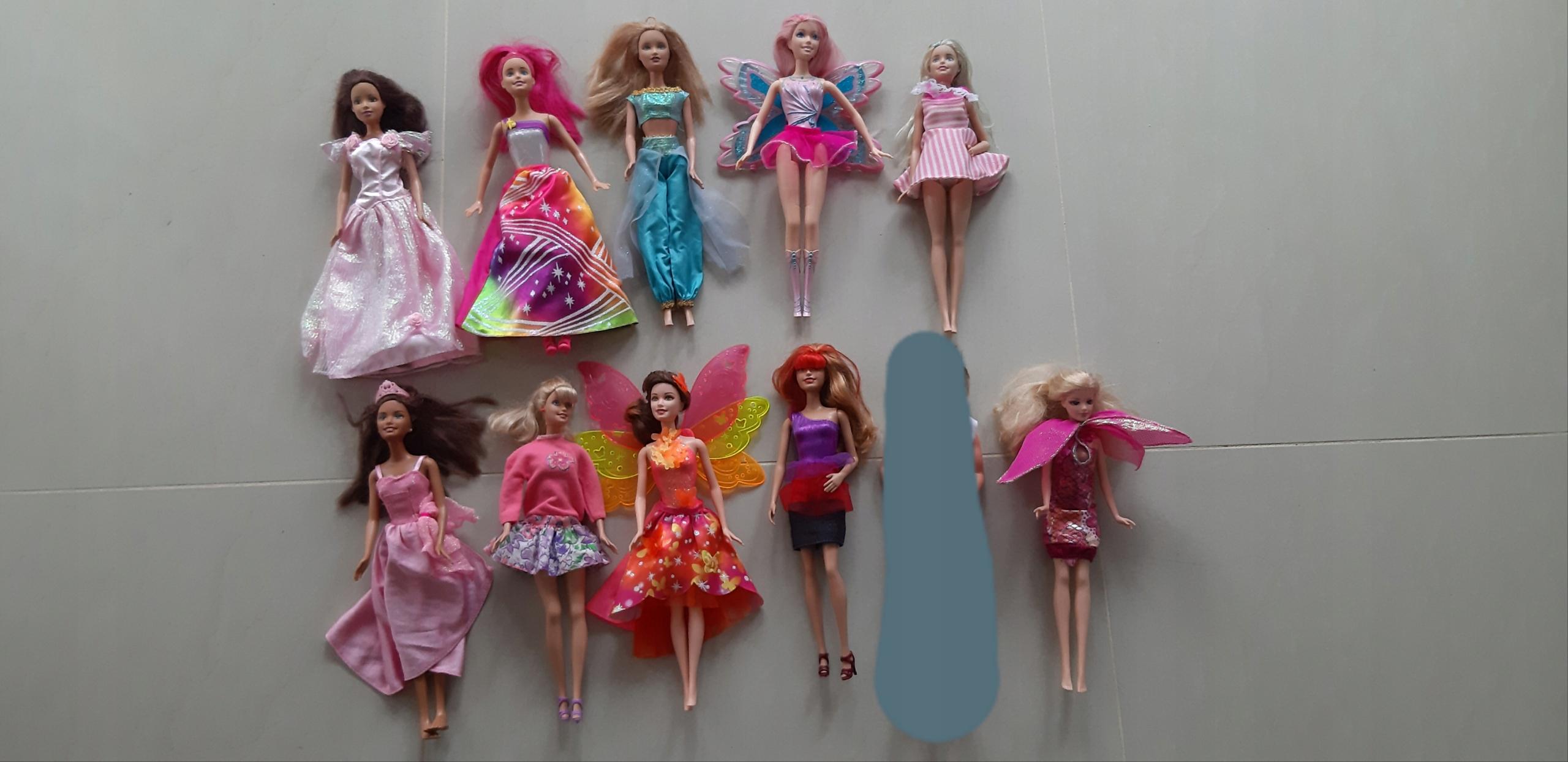 Zestaw lalek Barbie nowe i używane
