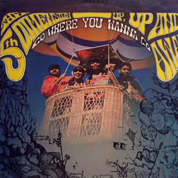 The 5th Dimension - Up, Up ... (Lp U.S.A.) Nowa !