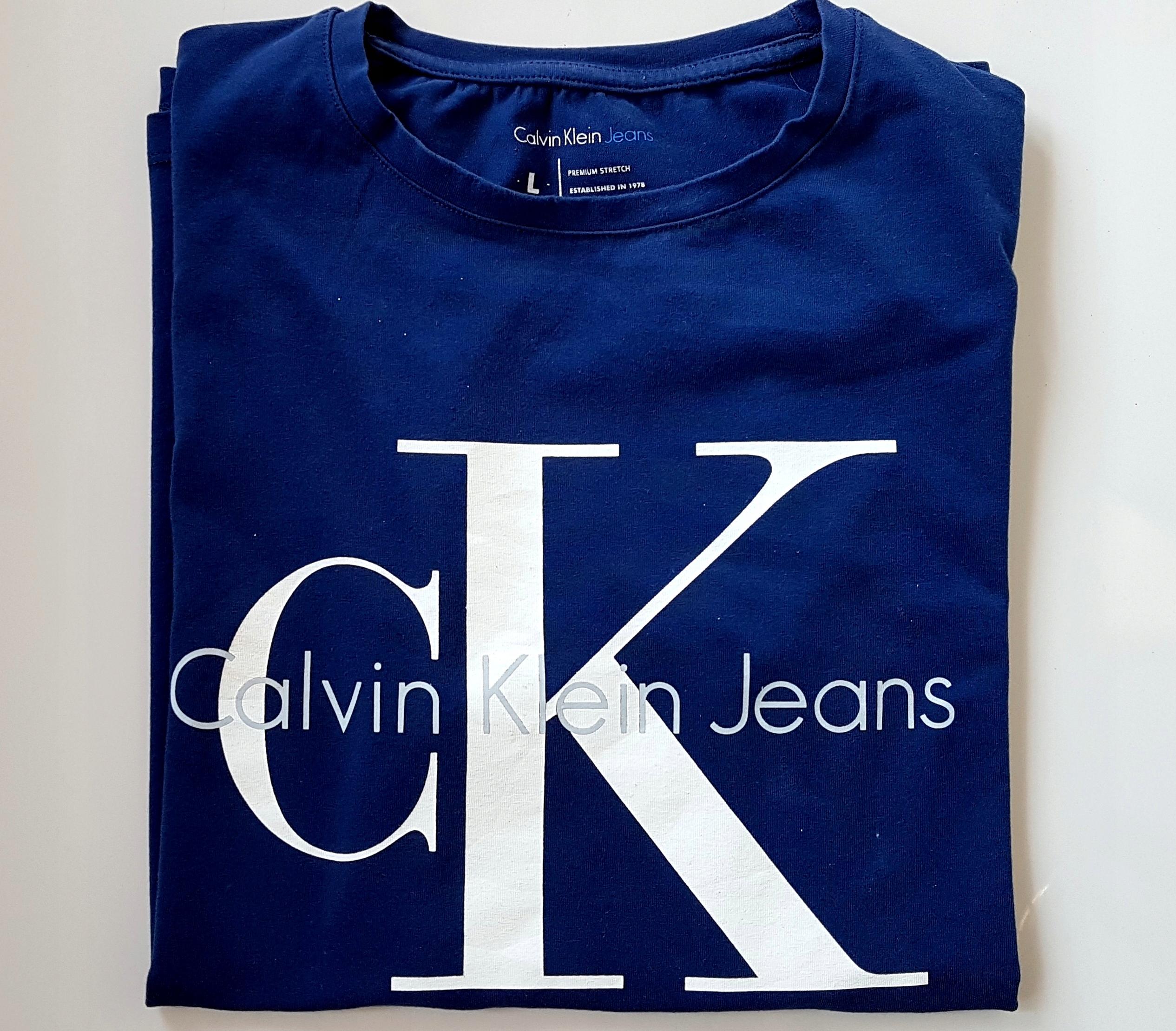 t-shirt CALVIN KLEIN męski rozm. L TANIO 2018r