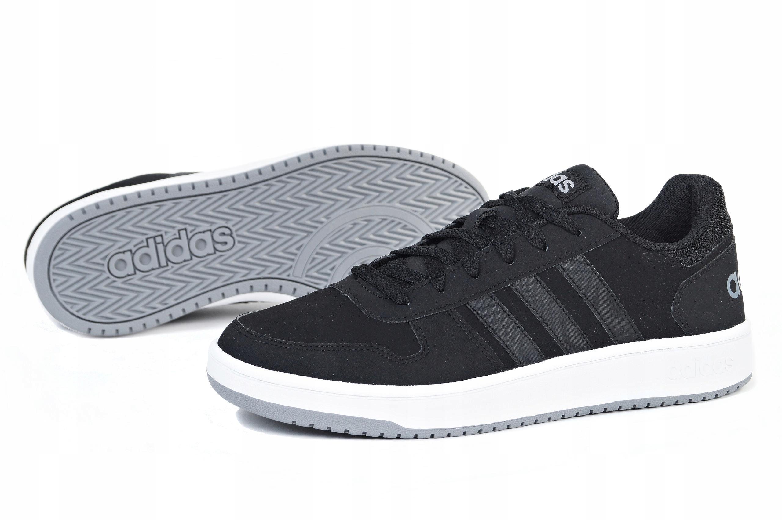 Buty Adidas Męskie Hoops 2.0 F34856 Granatowe Ceny i