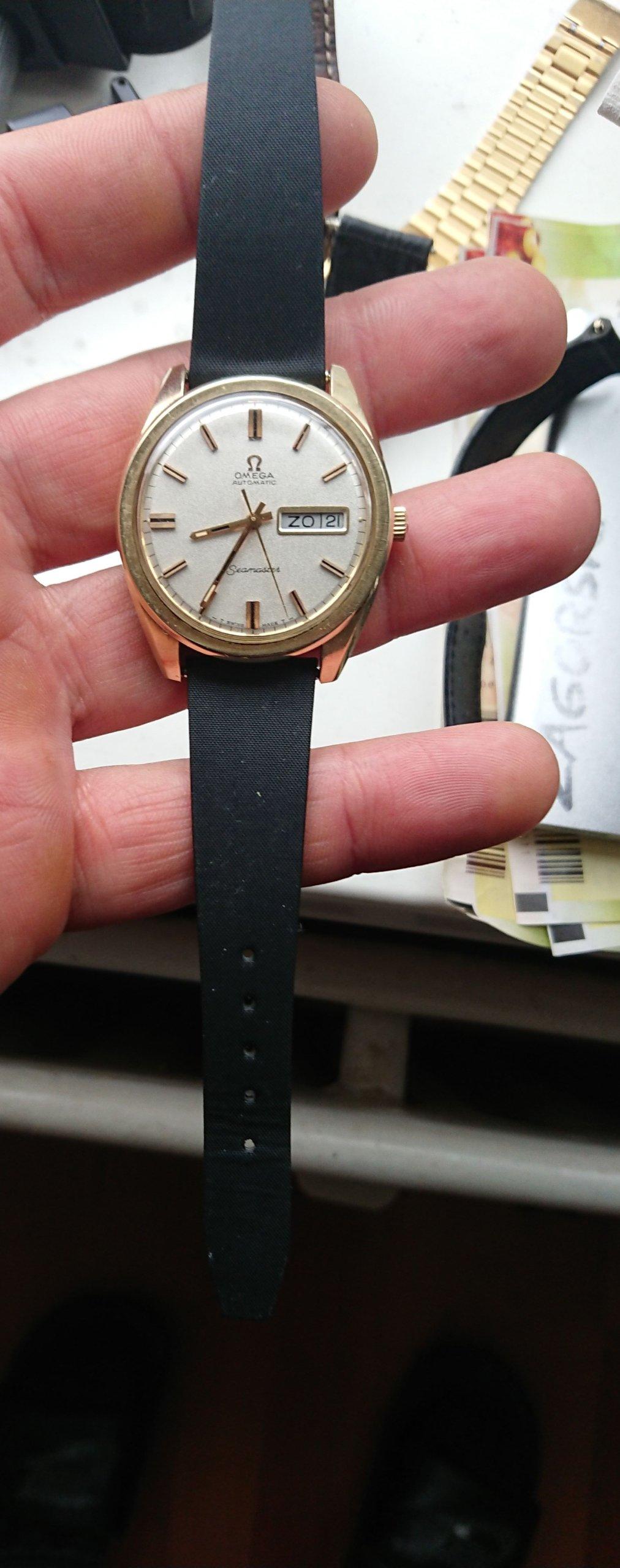 Omega Semaster 1968-37mm-Sparking dial