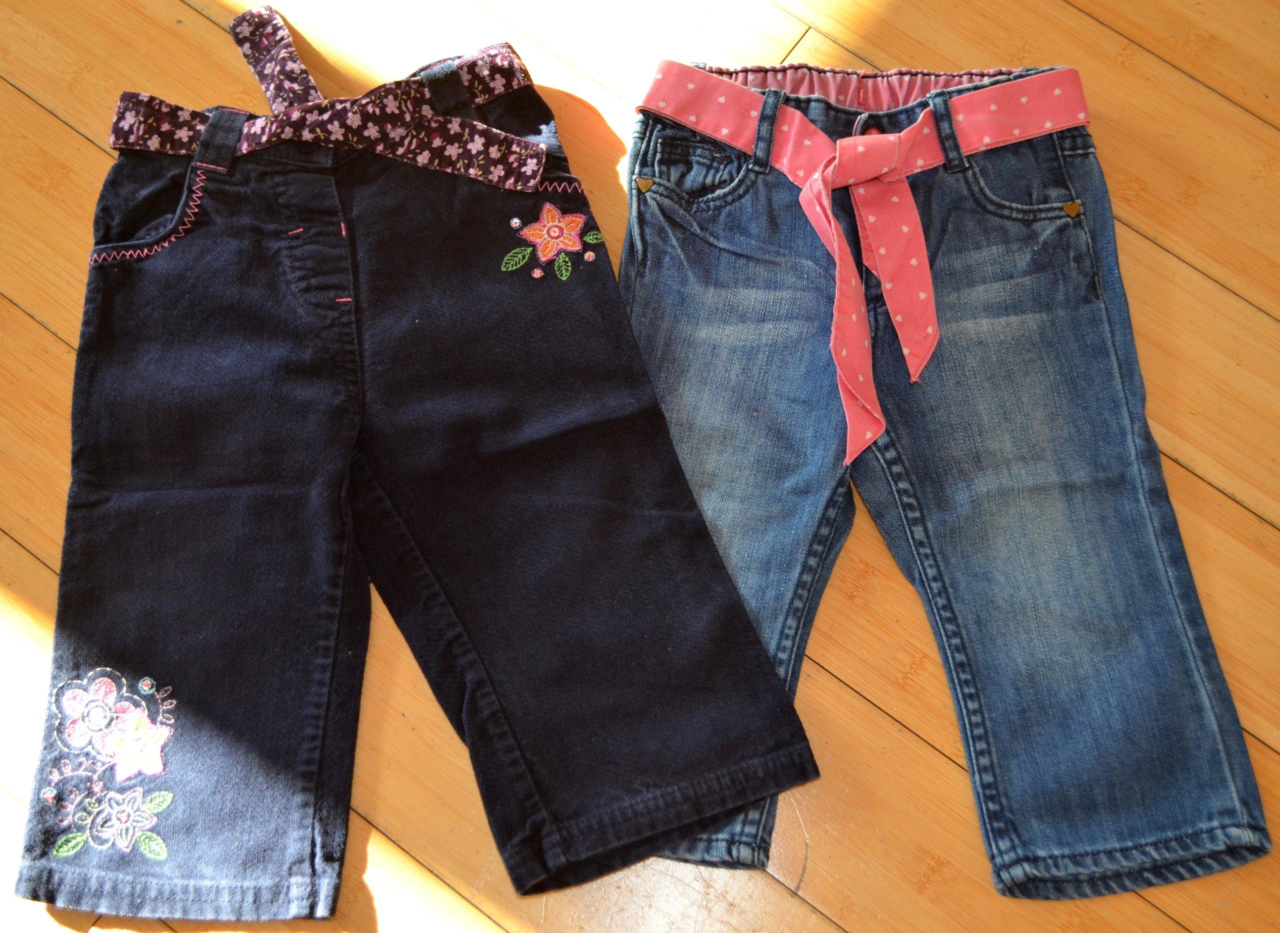 Spodnie NEXT jeansy rozmiar 80-86 2x + GRATIS