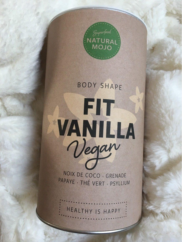 natural mojo fit vanilia szejk waniliowy
