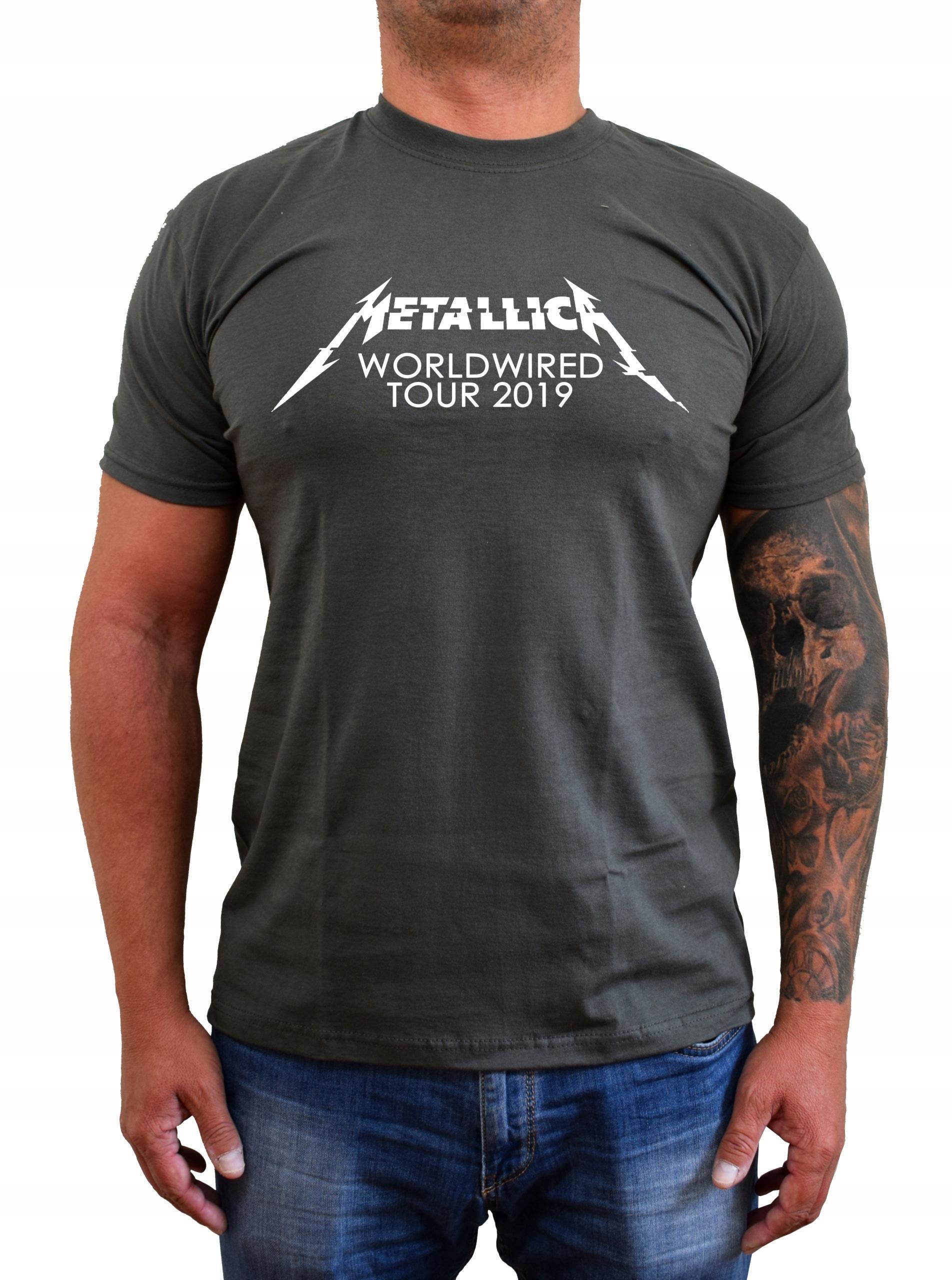 Koszulka T-Shirt Koncert Metallica Logo 3