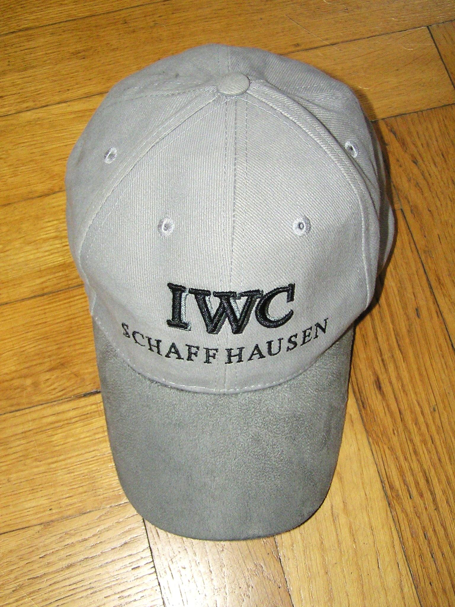 Czapka IWC SCHAFFHAUSEN oryginal ONE SIZE IDEAŁ !