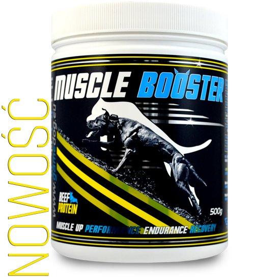 GameDog Muscle Booster 500g + Gratis!