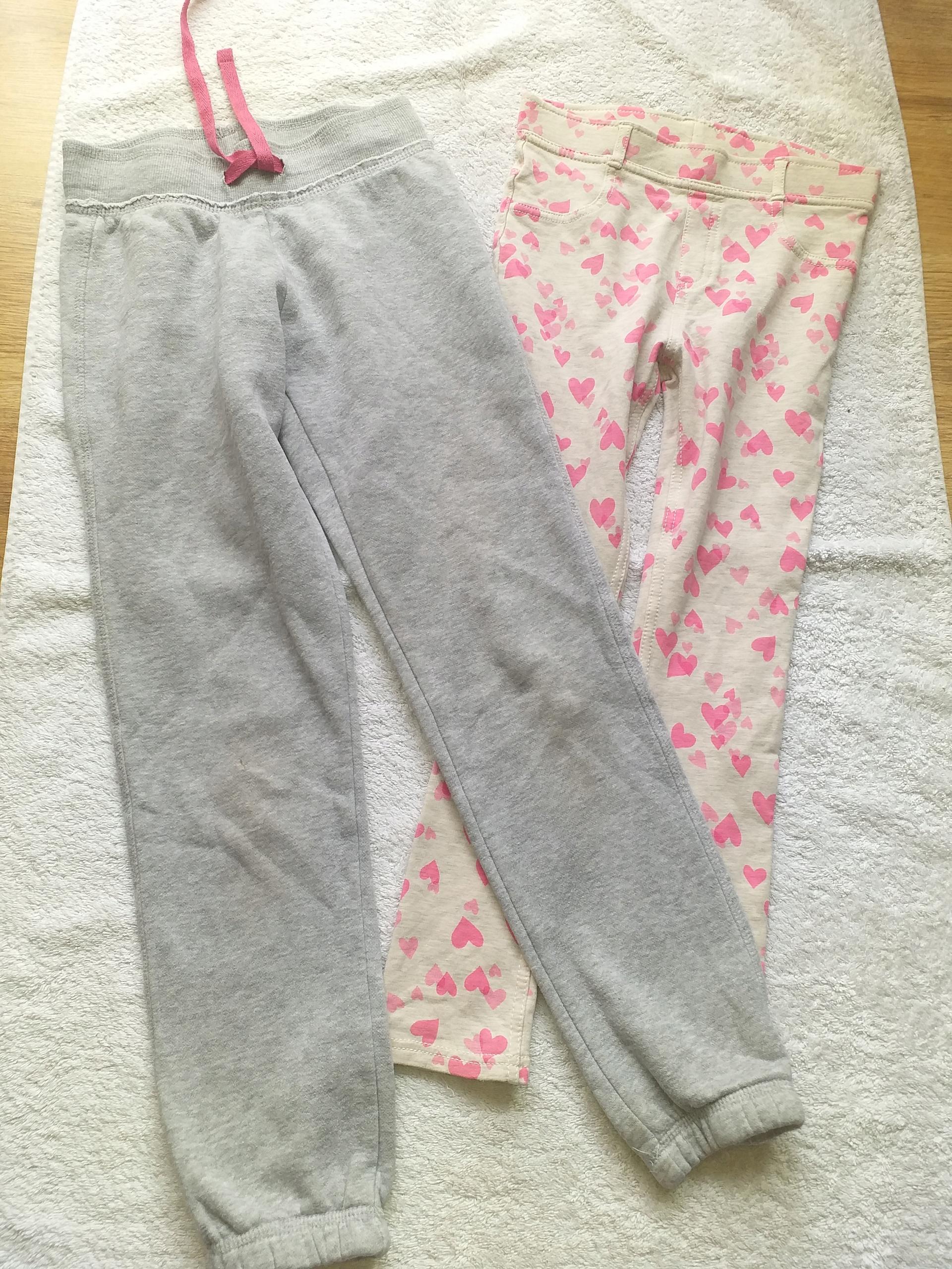 H&M Legginsy i spodnie dresowe 134-140cm
