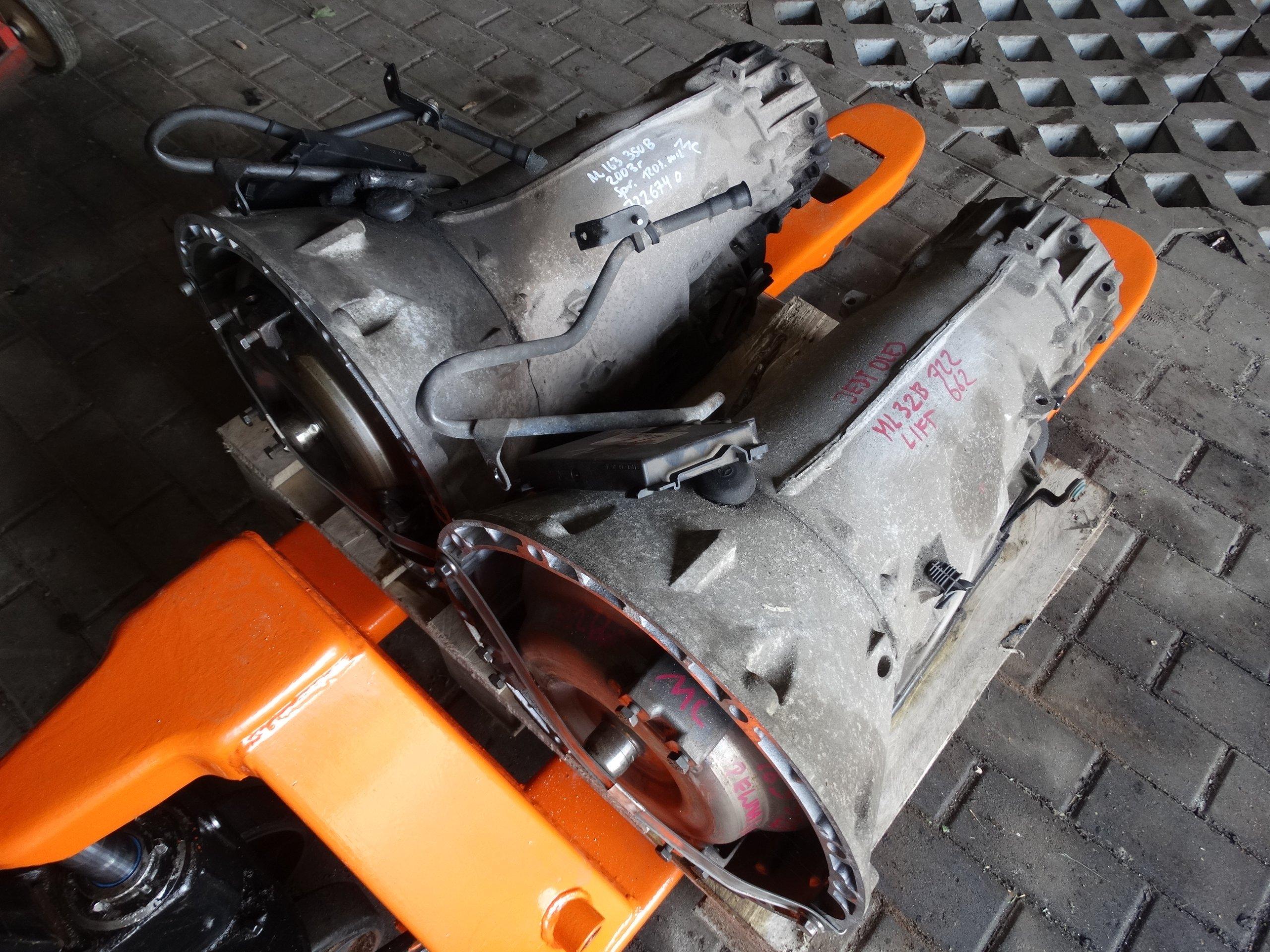 MERCEDES ML W163 SKRZYNIA BIEGÓW 3.2 3.5 722662 V6