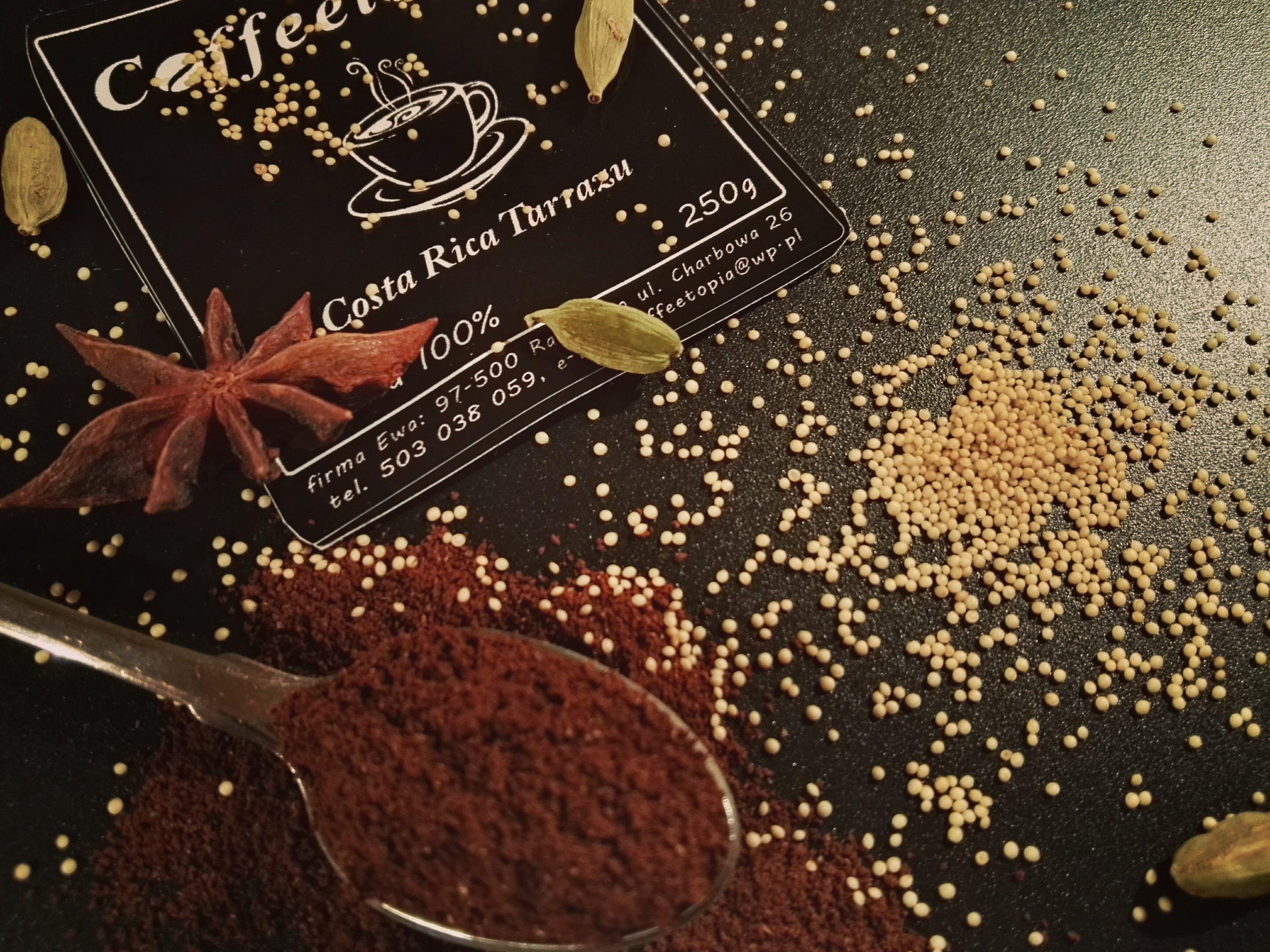 Kawa mielona Coffeetopia COSTA RICA TARRAZZU 1kg