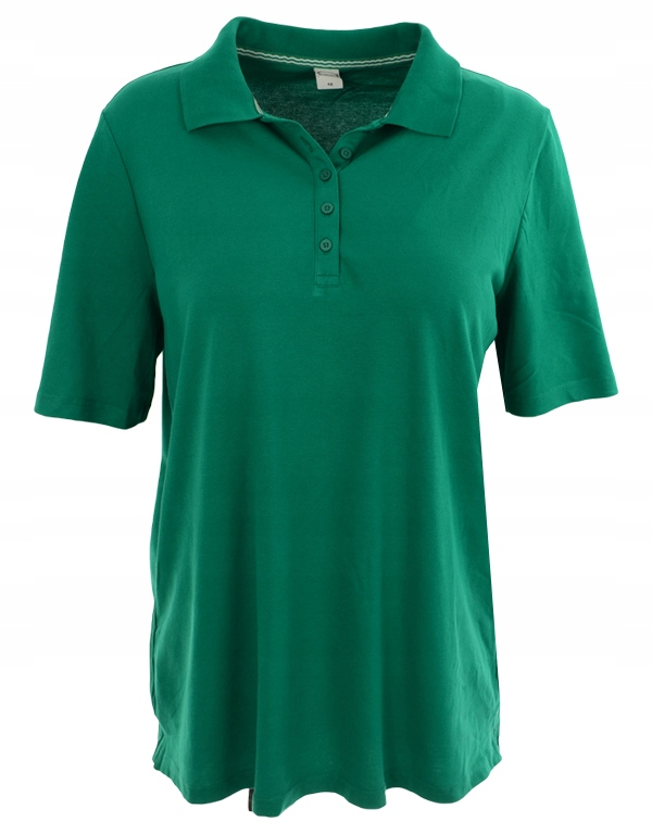 eXX0523 zielona koszulka polo 48