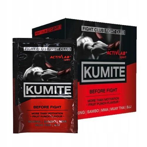 ACTIVLAB KUMITE 10x20G FIGHT NOX PUMP BLACK WOLF