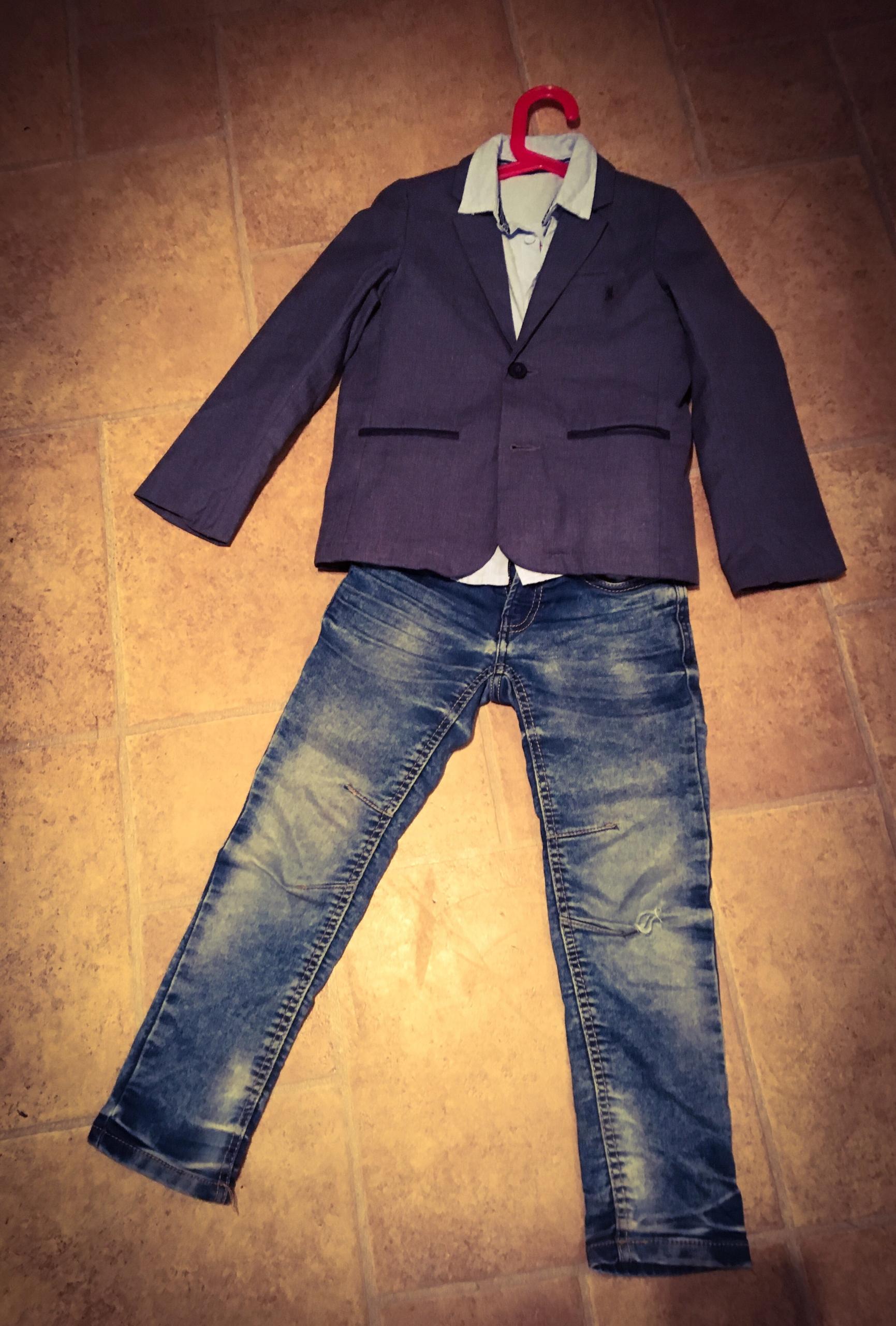 Marynarka Cool Club, Koszula, spodnie - 122