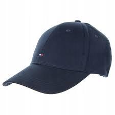 zpX2182 TOMMY HILFIGER czapka z daszkiem granat